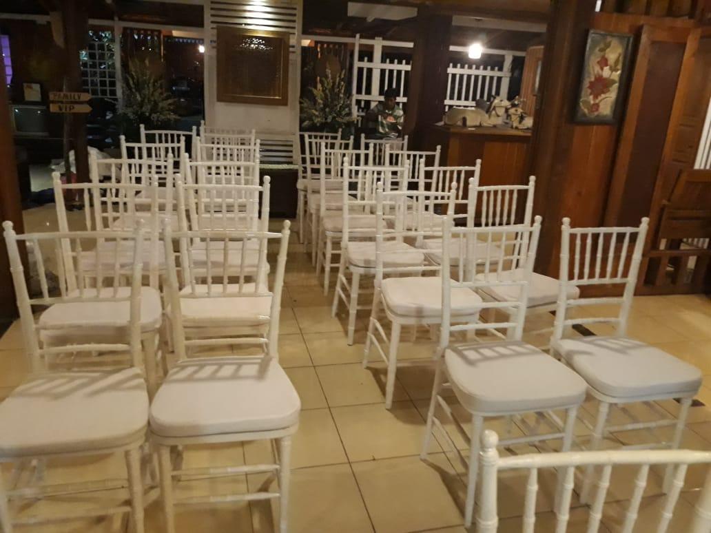 Sewa kursi tifany di toko Amanah Rental daerah Bogor, Jawa Barat - Sewa menyewa jadi lebih mudah di Spotsewa