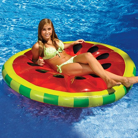 Watermelon Fruit Pool Floats | Le Float