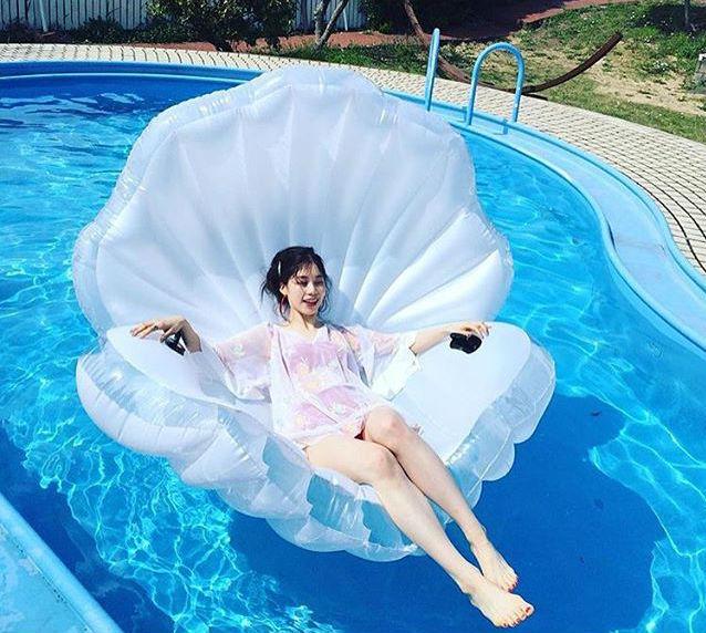 Seashell Pearl Floats | Le Float - Sewa menyewa jadi lebih mudah di Spotsewa