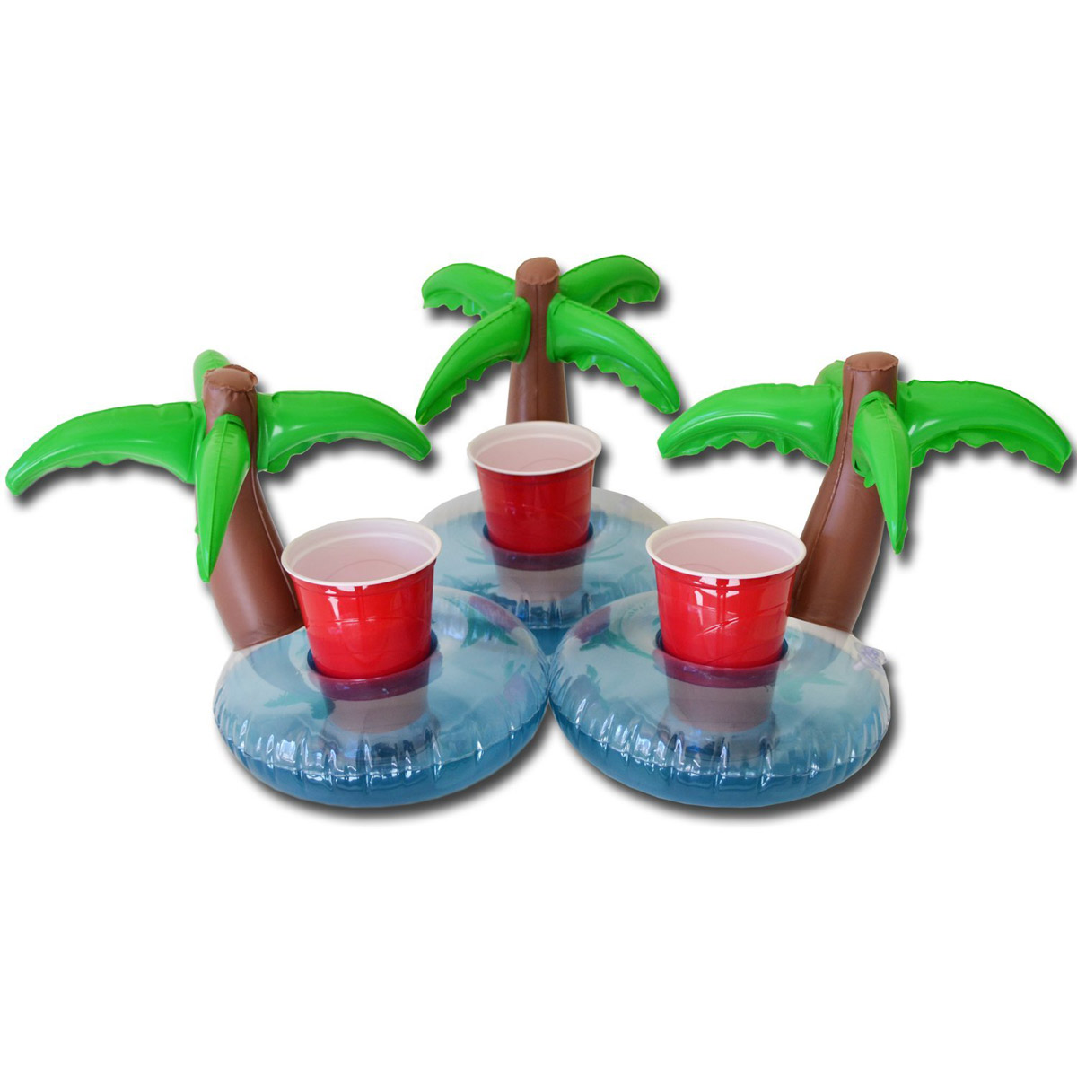 3 Palm Tree Drink Holder Floats | Le Float - Sewa menyewa jadi lebih mudah di Spotsewa