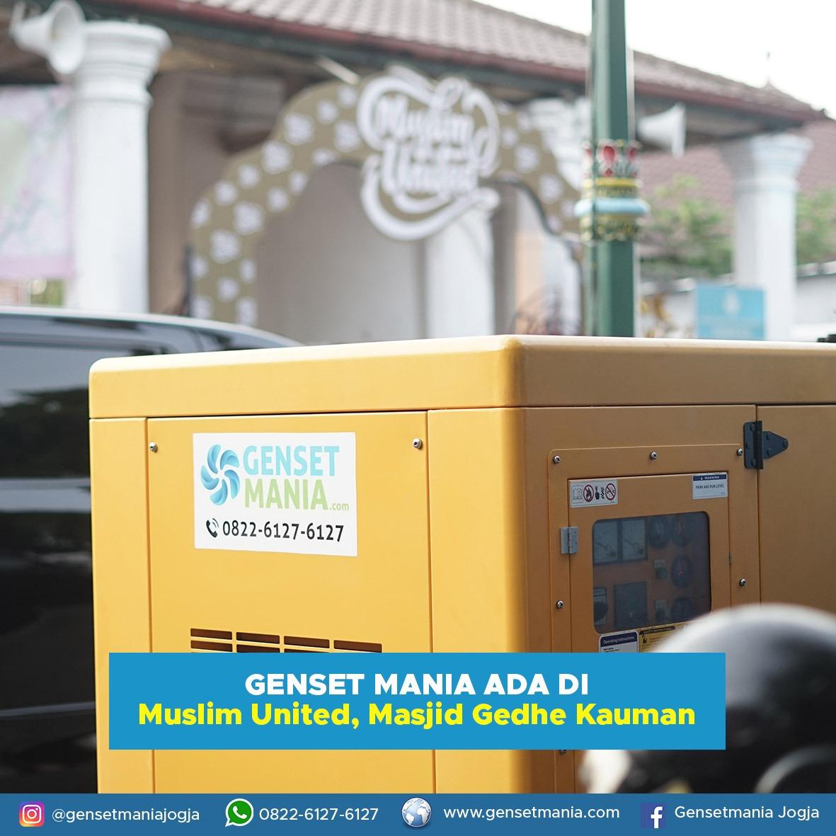 Sewa Genset Gen Rosso In concert a Yogyakarta di toko GENSETMANIA SEWA GENSET JOGJA daerah Yogyakarta, DI Yogyakarta - Sewa menyewa jadi lebih mudah di Spotsewa