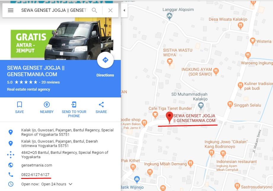 Sewa Genset 10-250K JOGJA BANTUL BOYOLALI di toko GENSETMANIA SEWA GENSET JOGJA daerah Yogyakarta, DI Yogyakarta - Sewa menyewa jadi lebih mudah di Spotsewa