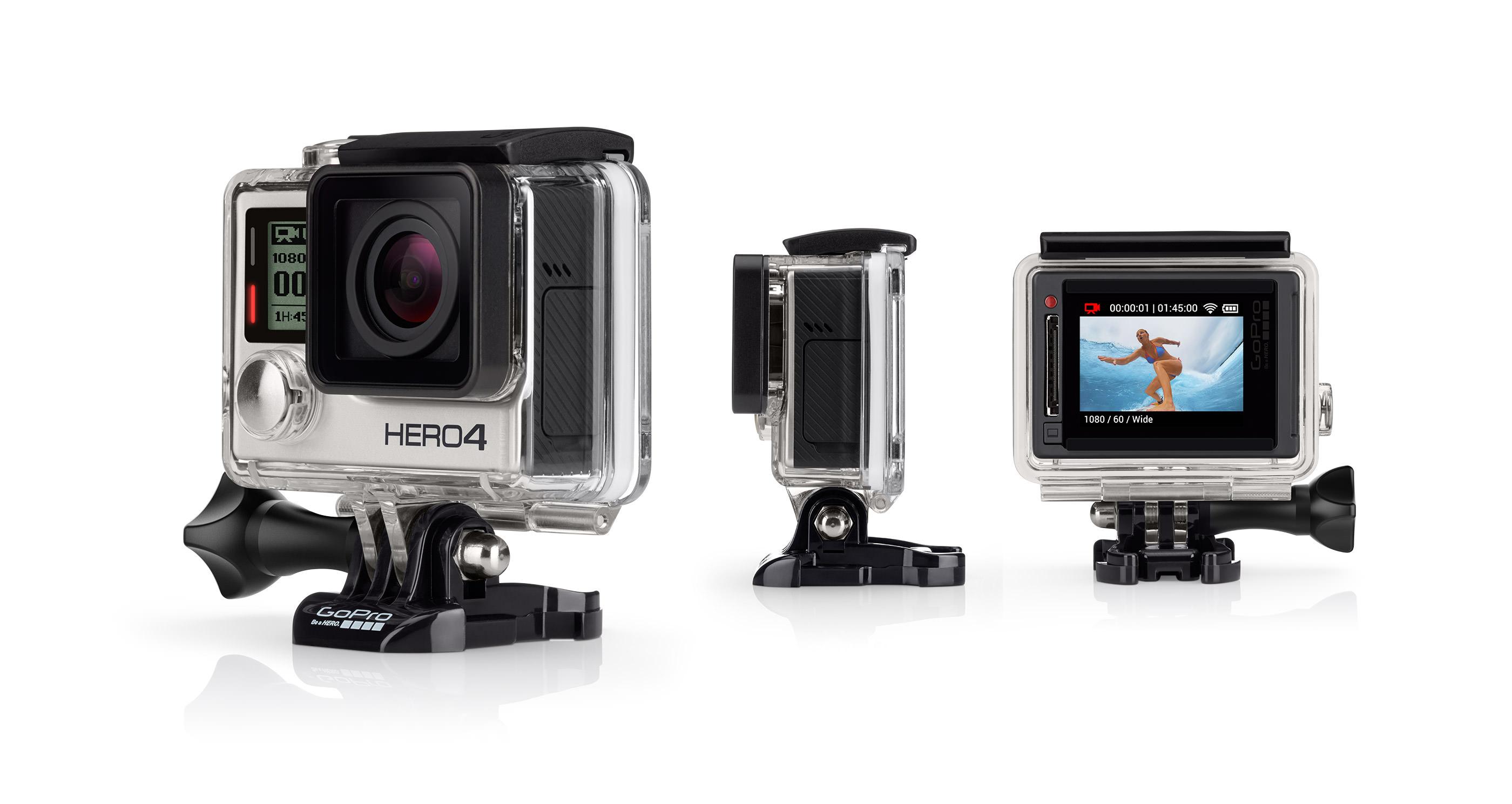 Kamera GoPro Hero4 Silver | Hobby Kamera - Sewa menyewa jadi lebih mudah di Spotsewa