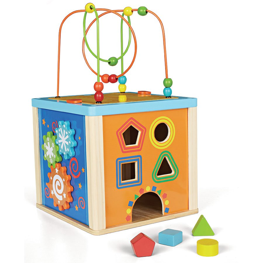 ToysRUs Imaginarium 5 Way Activity Cube | Spotsewa