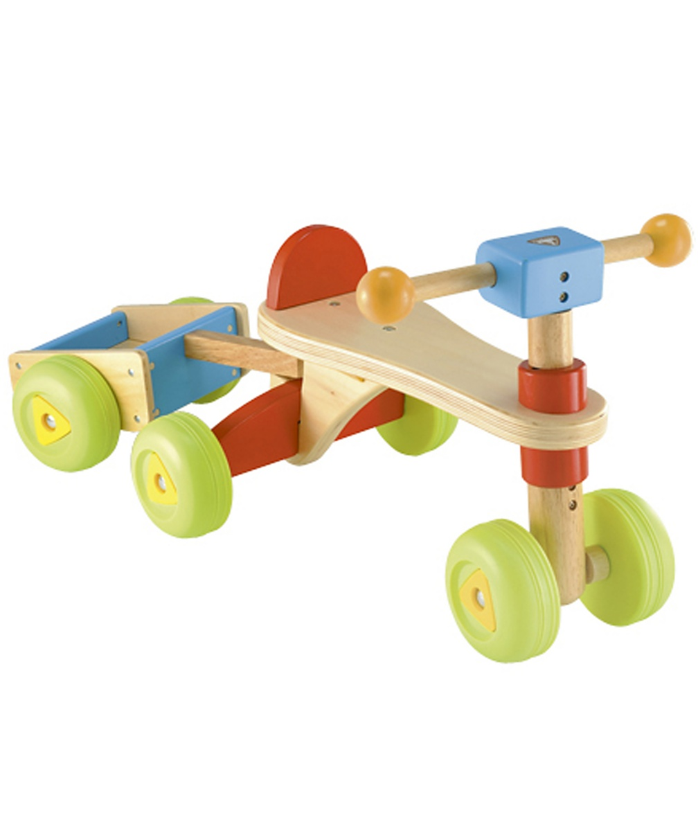 ELC Wooden Trike and Trailer Mothercare | Spotsewa
