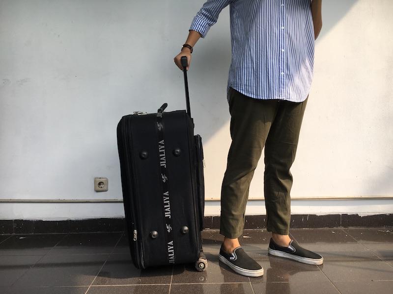 Sewa Koper 27 inch besar (Traveler Luggage) di toko Spotsewa daerah Jakarta Selatan, DKI Jakarta - Sewa menyewa jadi lebih mudah di Spotsewa