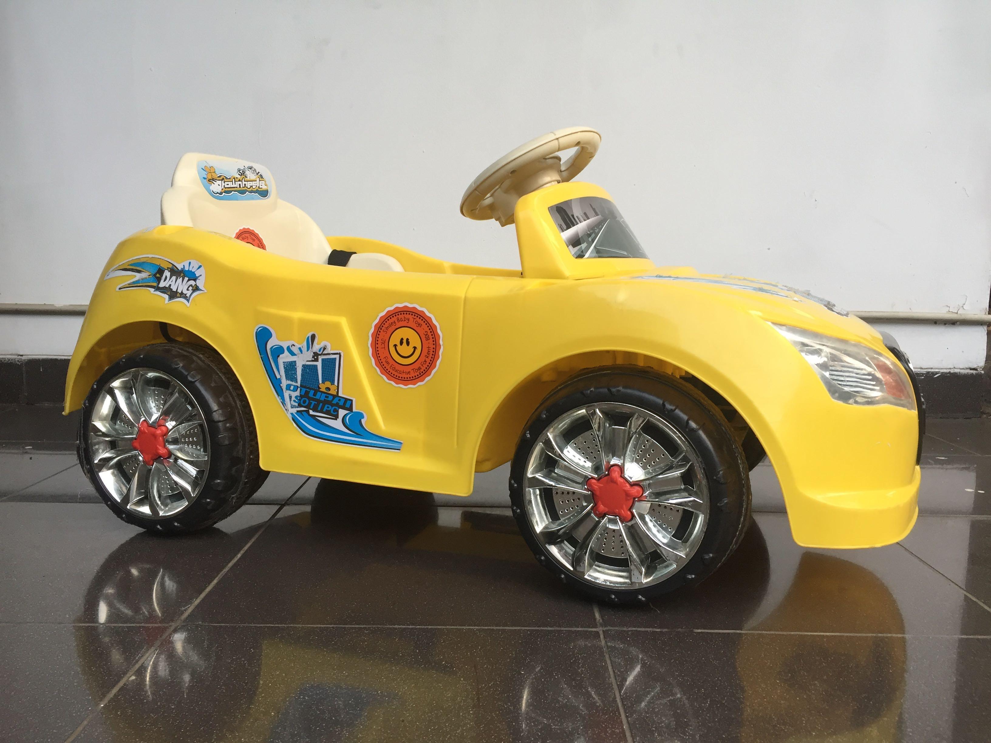 Mobil Listrik Aki Anak Pliko | Spotsewa