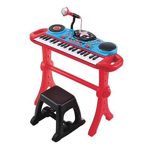 ELC Keyboard and Stool Red | Spotsewa - Sewa menyewa jadi lebih mudah di Spotsewa