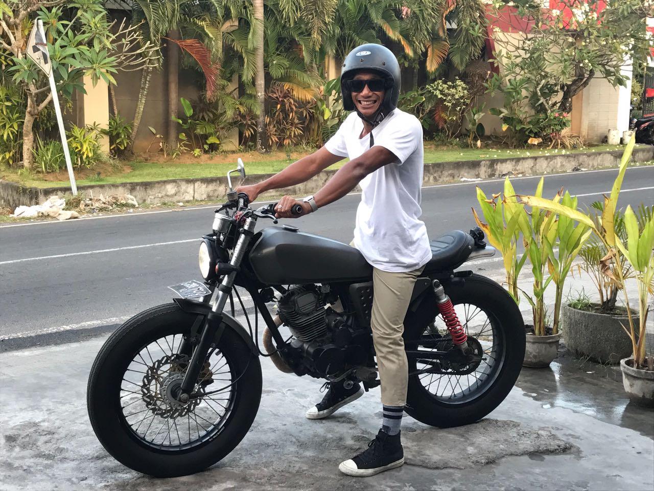 Motor Custom Bike Scrambler | Spotsewa Bali - Sewa menyewa jadi lebih mudah di Spotsewa