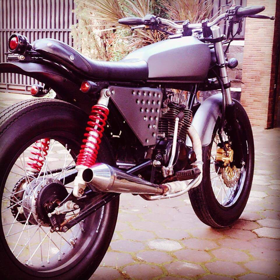 Motor Custom Bike Scrambler | Spotsewa Bali