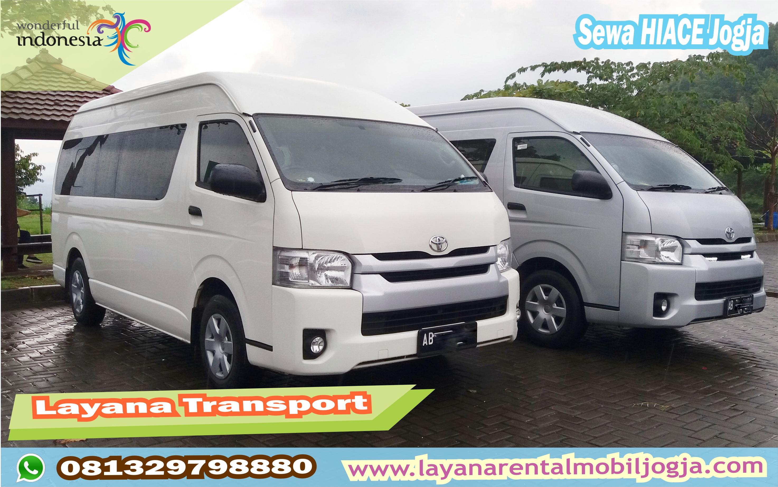 Mobil Wisata Hiace & ELF di Jogja || 10-19 seat | Layana Transport - Sewa menyewa jadi lebih mudah di Spotsewa