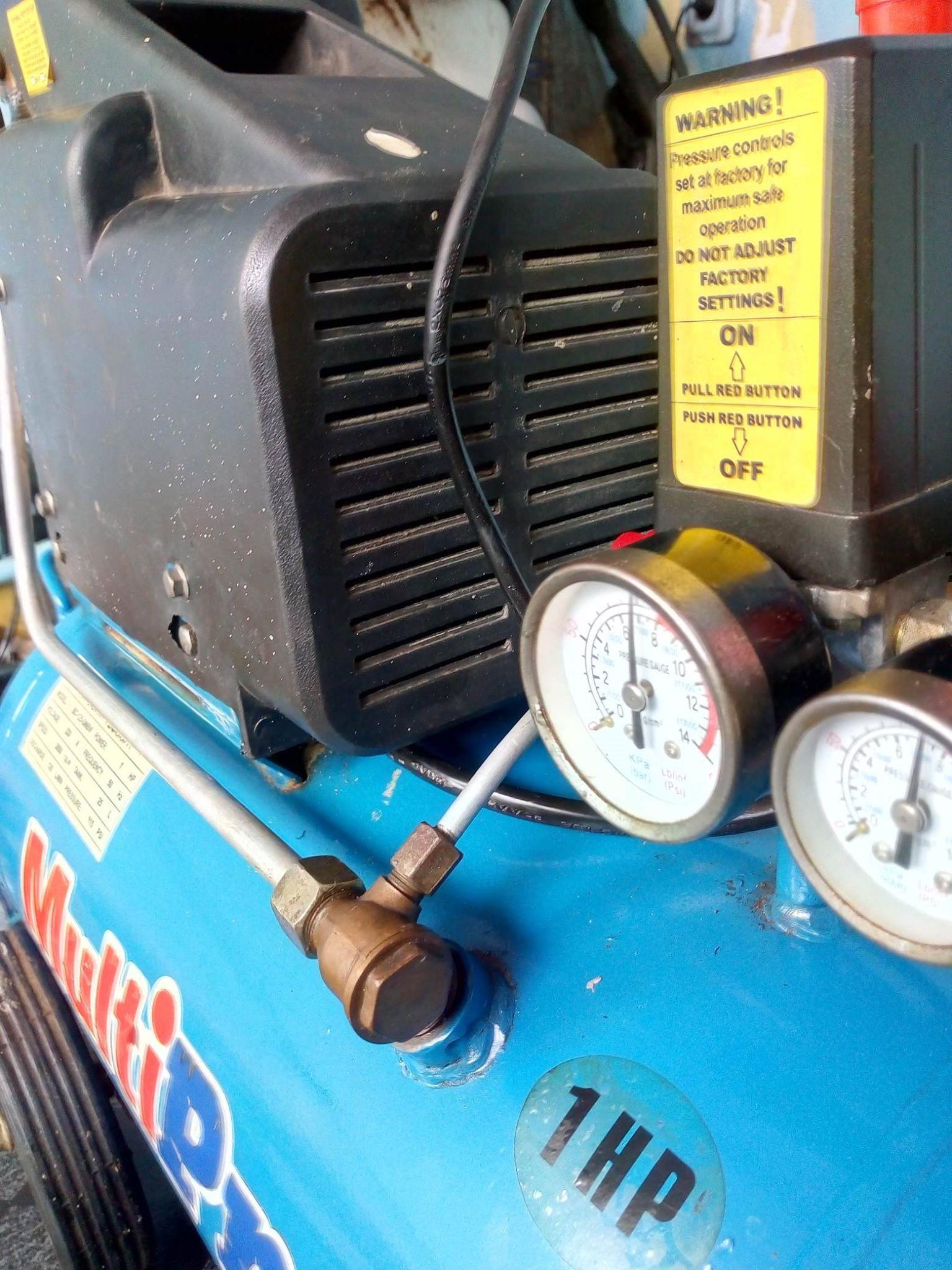 Kompresor 1HP dan 3/4HP lengkap dengan spray gun | Sewa Perkakas Poltangan - Sewa menyewa jadi lebih mudah di Spotsewa