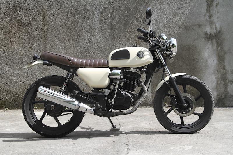 Motor Custom MM35 | Malamadre Motorcycles - Sewa menyewa jadi lebih mudah di Spotsewa