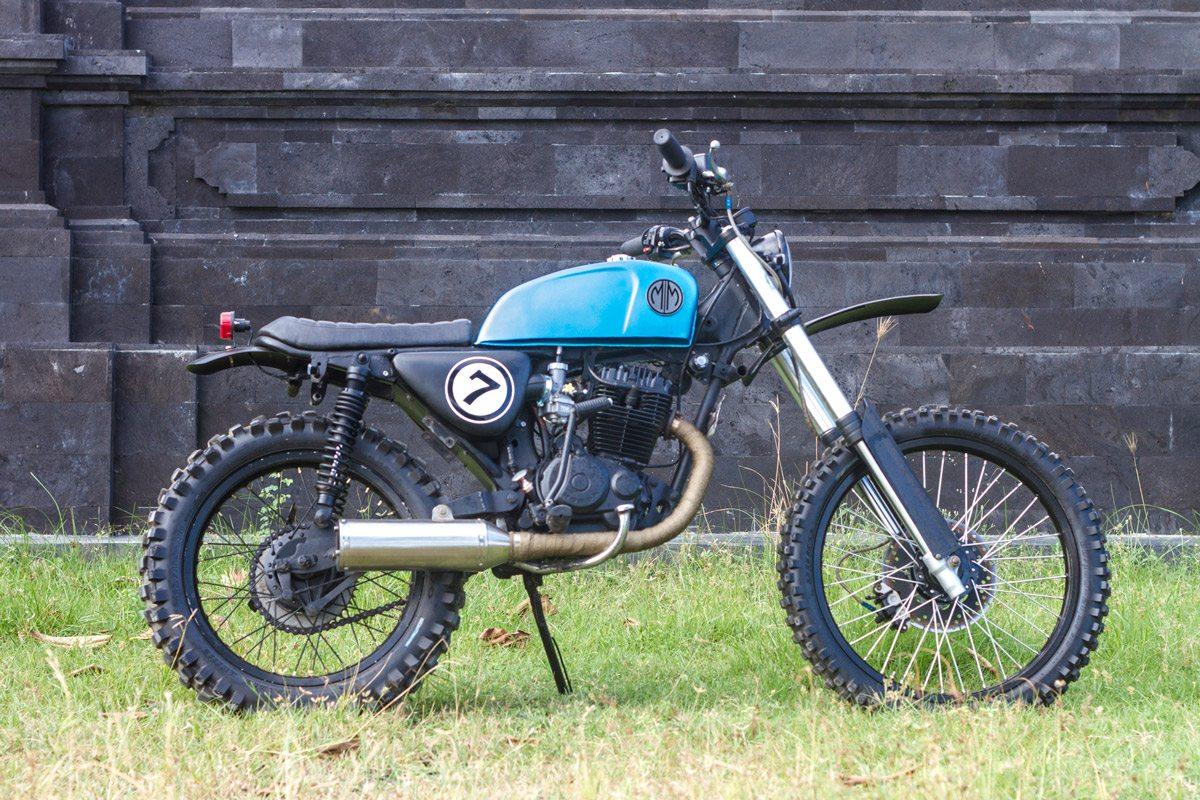 Motor Custom MM7 | Malamadre Motorcycles - Sewa menyewa jadi lebih mudah di Spotsewa